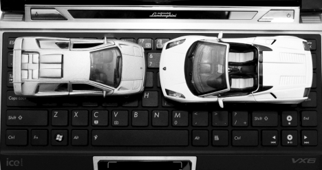 Asus VX6 Lamborghini - un Diablo al Netbook-urilor